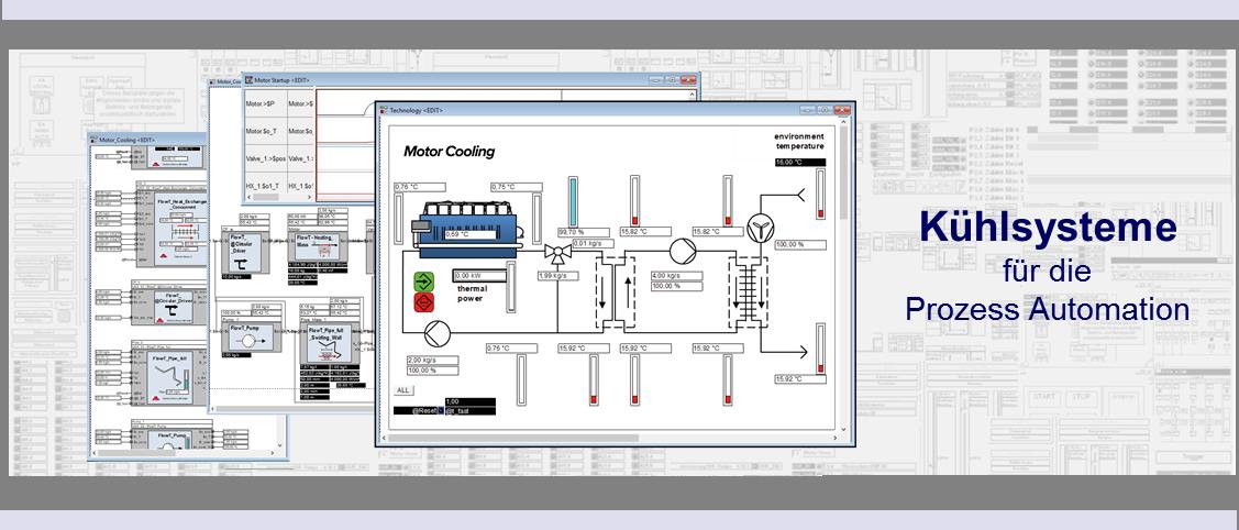 Kühlsysteme und stabile Betriebstemperaturen werden für alle Wärme erzeugenden Prozesse benötigt.