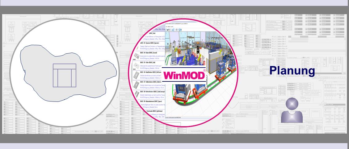 WinMOD-Systeme für die Planung von virtuellen Maschinen und Anlagen