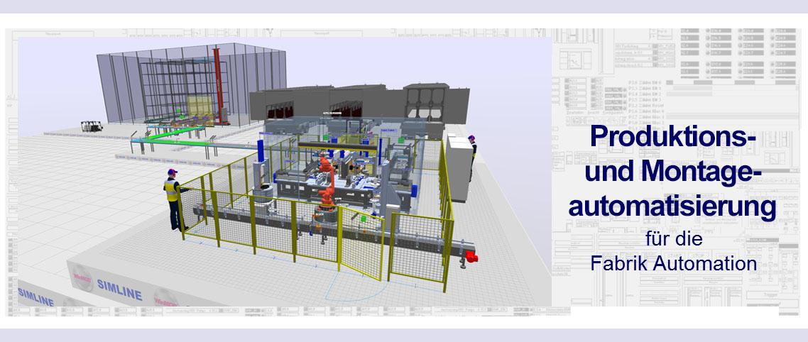 Produktions Montageautomatisierung