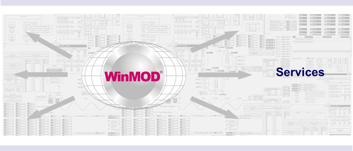 WinMOD Services for Training Engineering Support